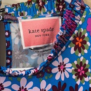 Kate Sade formal daises 3/4 length dress. Size L
